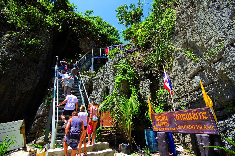 Ang Thong Ausflug Emerald Lake