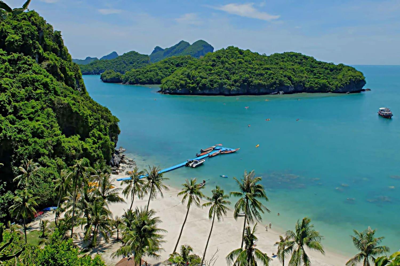 Koh Samui Ausflug Angthong Marine Park