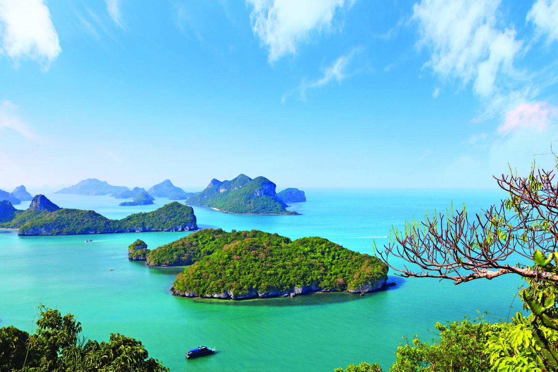 Ang Thong Tour Inseln Marine Park