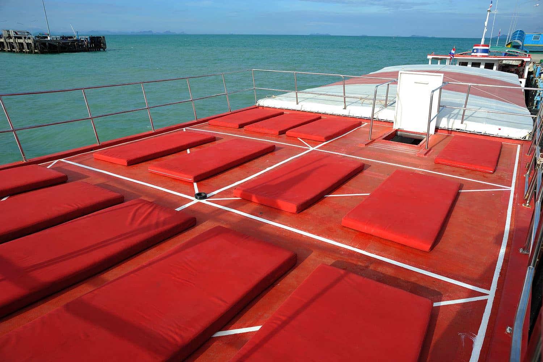 Angthong Ausflug Boot Sonnendeck
