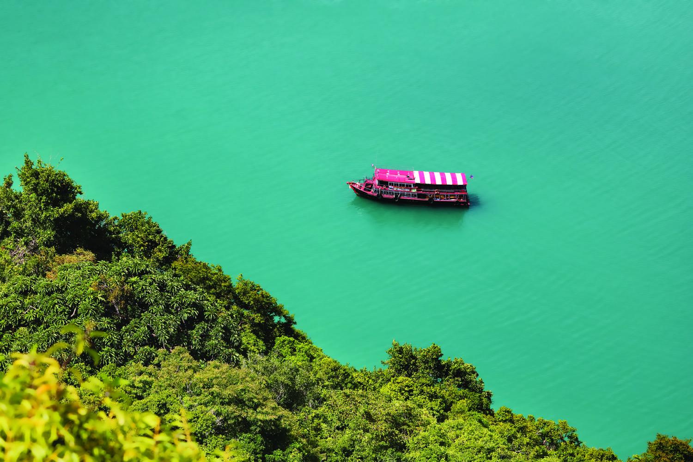 Angthong Ausflug Tourboot