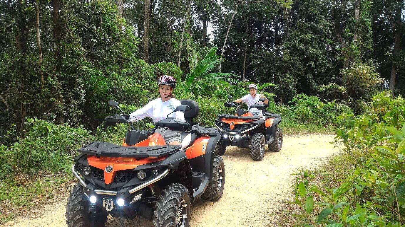 ATV Dschungel Safari Ko Samui