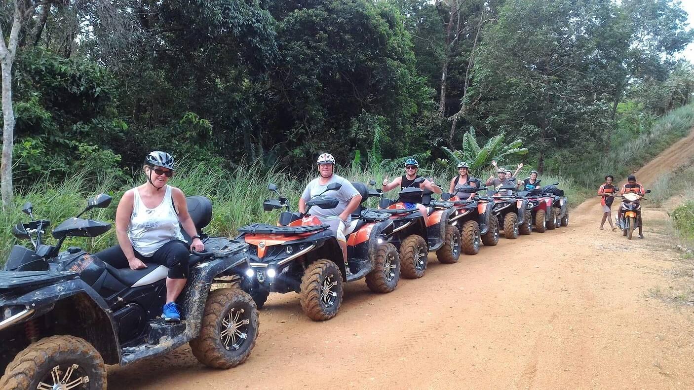 ATV Dschungel Safari Koh Samui