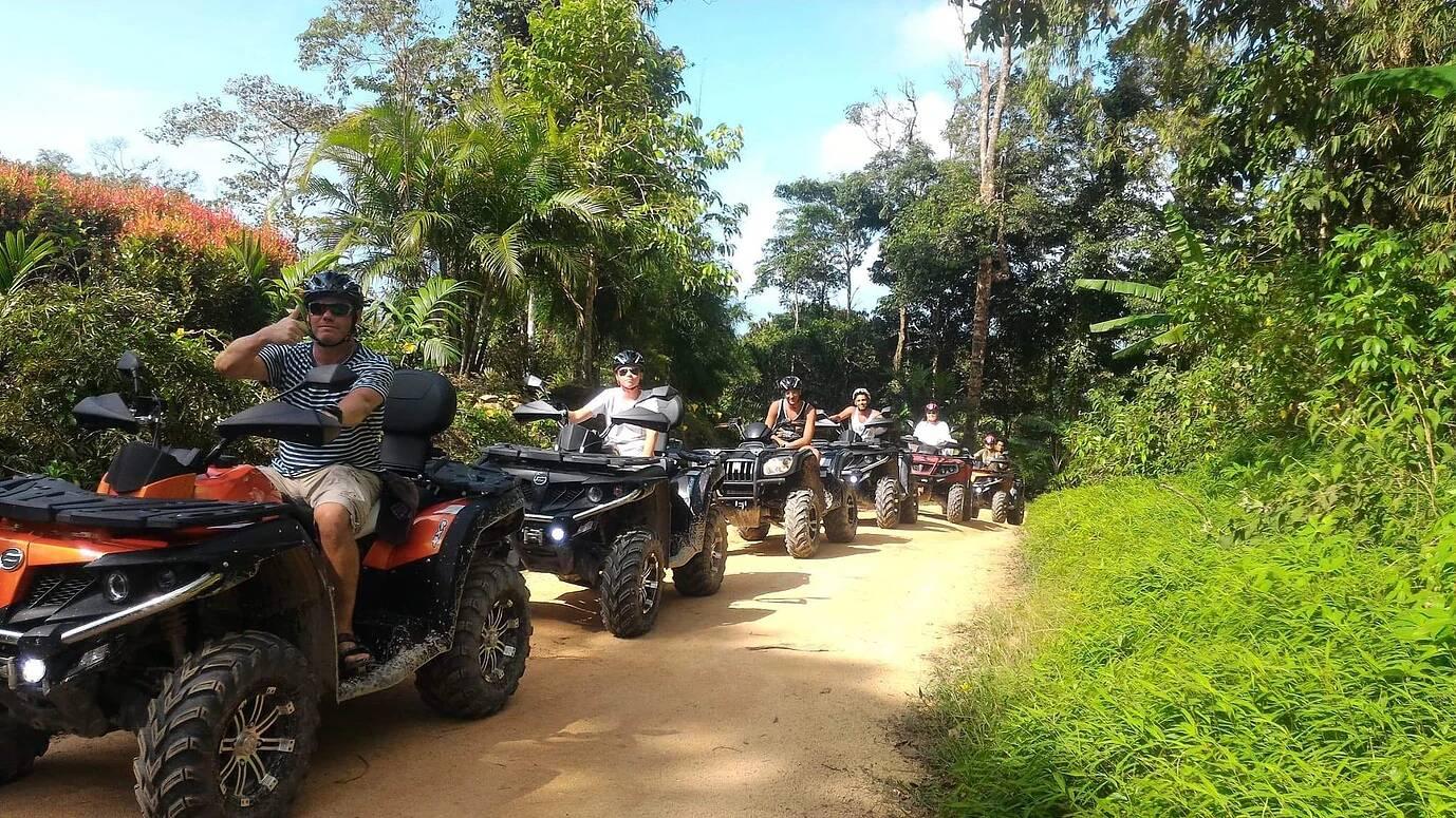 ATV Safari Quad Tour Koh Samui