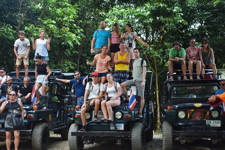 Dschungel Safari Koh Samui Jeep