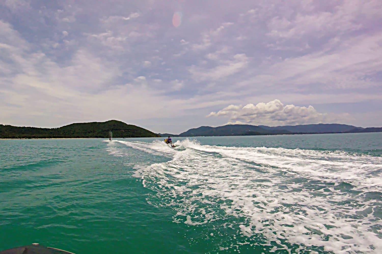 Jet Ski Ausflug Koh Samui