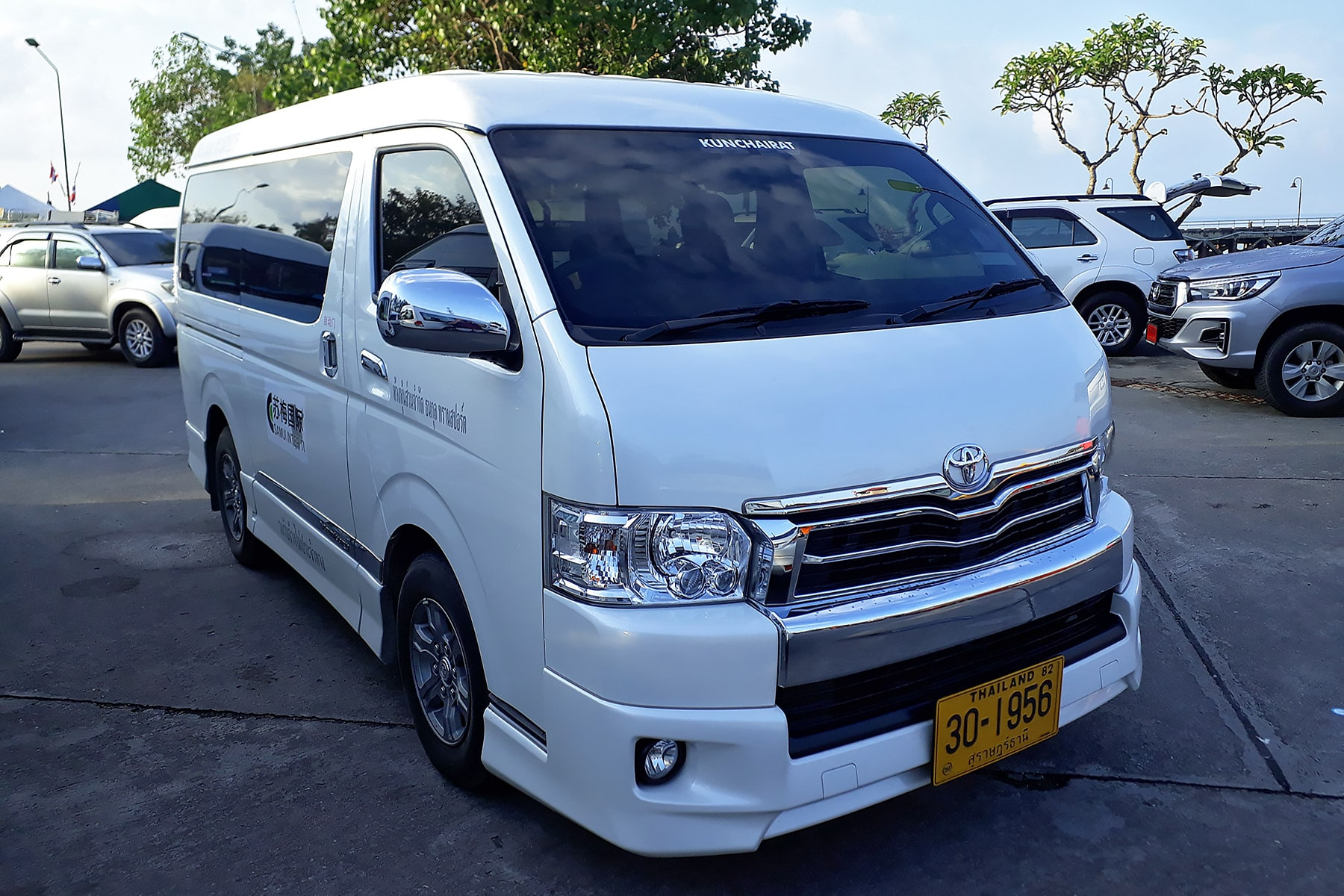 Koh Samui Inselrundfahrt Minibus