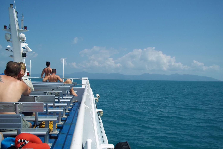 Samui - Suratthani Transfer mit dem Boot