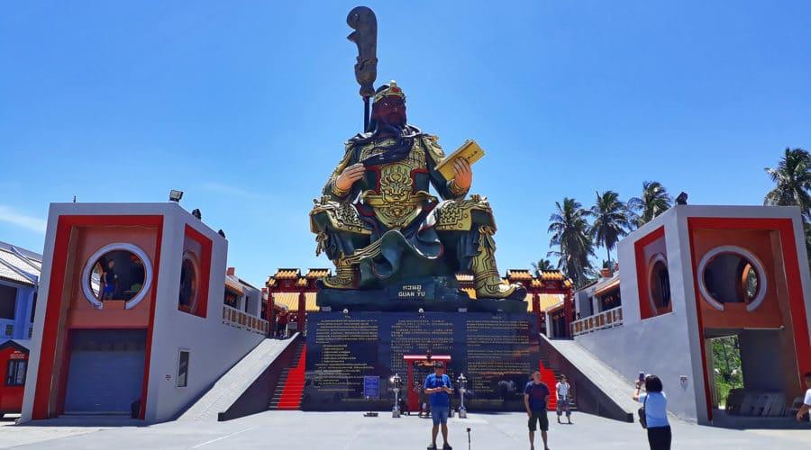Premium Insel Safari Guan Yu Tempel Koh Samui