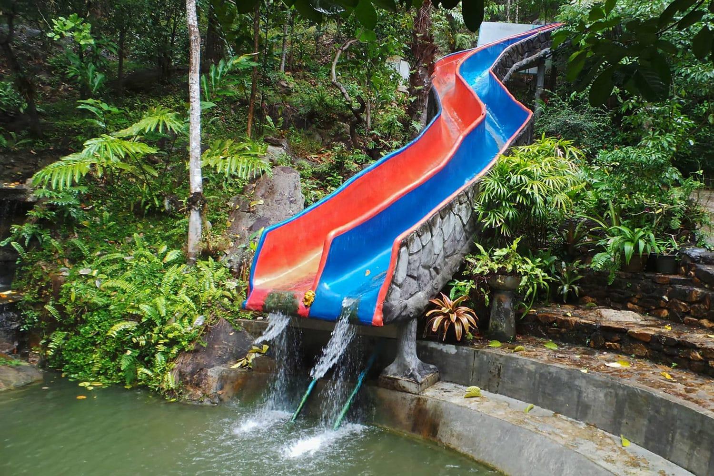 Premium Insel Safari Wasserrutsche Koh Samui