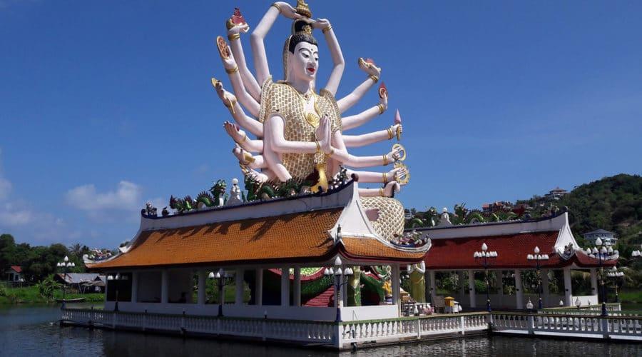 Premium Inselrundfahrt Koh Samui Wat Plai Laem