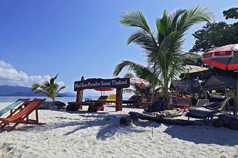 Samui Secret Island Tour Koh Madsum Strand