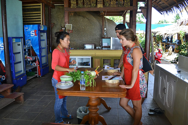 Thai Kochkurs Menübesprechung